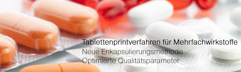 Tablettenprintverfahren